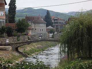 Kosovo Pomoravlje Valley in Kosovo
