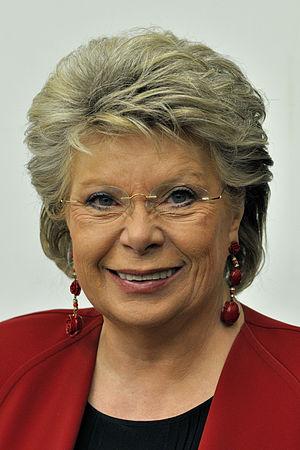 affiche Viviane Reding