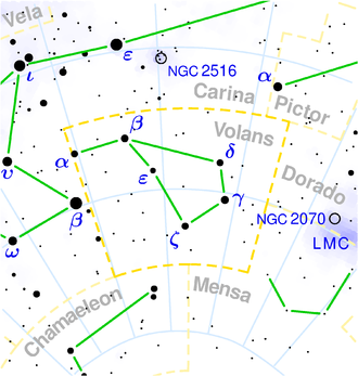 Volans constellation map.png