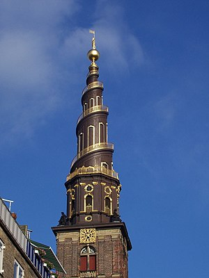 Church of Our Saviour, Copenhagen - Thurah's corkscrew spire