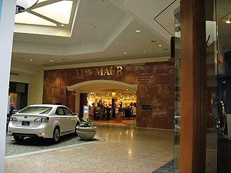 Von Maur - Von Maur entrance, Briarwood Mall, Ann Arbor, Michigan