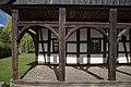 Vorgiebel Laubenhaus, Vorlaube, linker Teil b.jpg