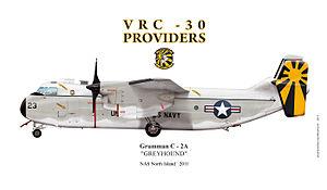 VRC-30 - VRC 30 C-2A Greyhound 2011 color scheme