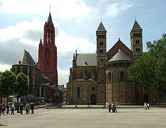 Religion in the Netherlands - Basilica of Saint Servatius (built 570) in Maastricht is the oldest church in the Netherlands.
