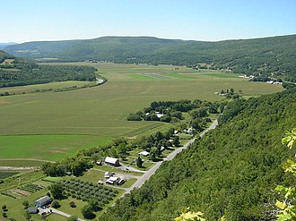 Vroman's Nose - Southwest from Vroman's Nose