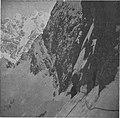 Vstop v severno steno Mojstrovke, v ozadju Špik, Lipnica 1944.jpg