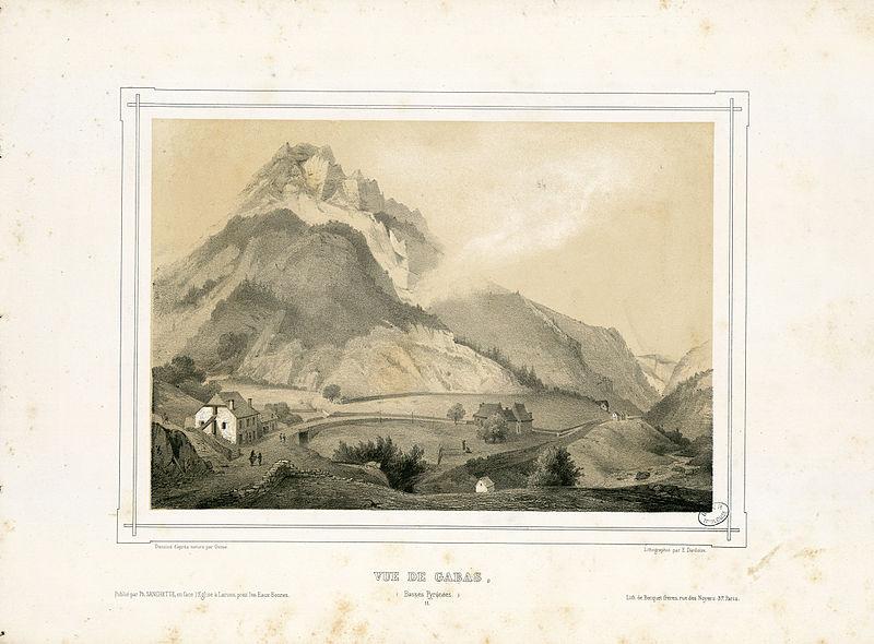 File:Vue de Gabas (Basses Pyrénées) - Fonds Ancely - B315556101 A GORSE 11 012.jpg