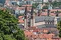Würzburg, Dom, Ansicht von der Festung Marienberg 20170624 002.jpg