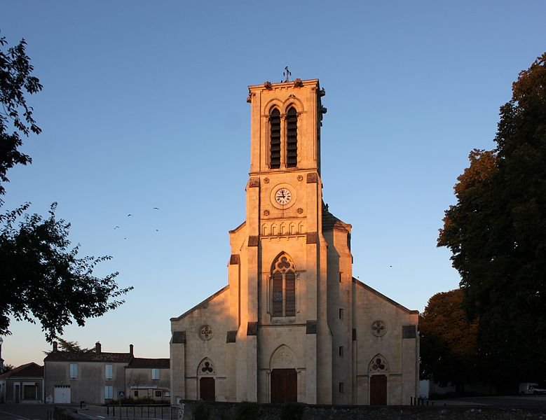 Église Sainte-Marie-Madeleine, Fr-85-Chaillé-les-Marais.