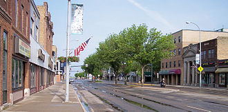 Wahpeton, North Dakota - Dakota Avenue in downtown Wahpeton in 2007