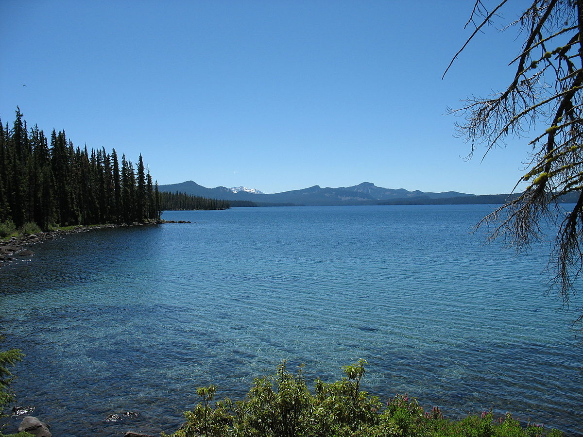 Waldo Lake - Wikipedia