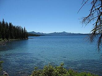 Waldo Lake Wilderness - Image: Waldo Lake