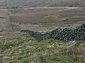 Wall, Round Hill - geograph.org.uk - 298108.jpg