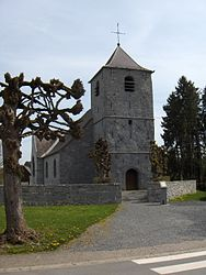 The church in Wallers-en-Fagne