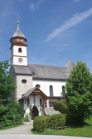 Wallfahrtskirche des Klosters Maria Eck