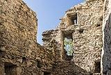 Waltensburg-Vuorz. Ruïne Burg Kropfenstein (Casti Grotta) (actm) 06.jpg