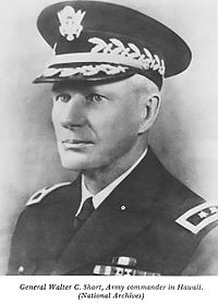 Major General Walter C. Short