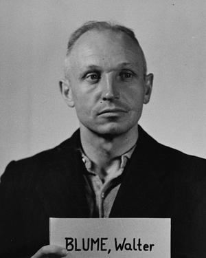 Walter Blume (SS officer) - Walter Blume at the ''Einsatzgruppen'' Trial