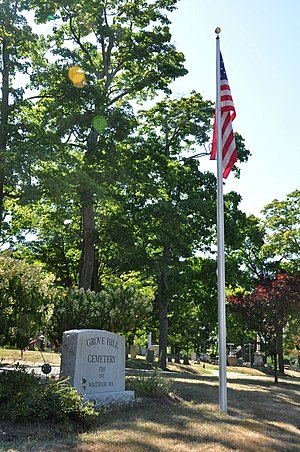 Grove Hill Cemetery - Image: Waltham MA Grove Hill Cemetery