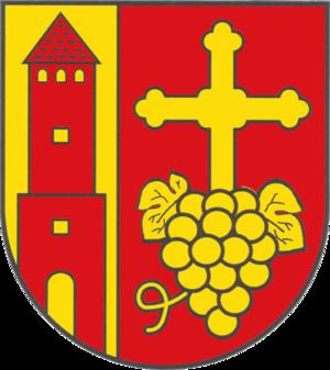 Wetterzeube - Image: Wappen Gemeinde Wetterzeube Burgenlandkreis