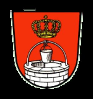 Königsbrunn - Image: Wappen Koenigsbrunn