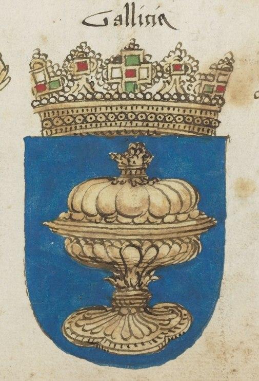 Wappenbuch der Arlberg Bruderschaft - escudo Galicia