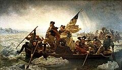 Washington Crossing the Delaware (1851), by Emanuel Leutze. Metropolitan Museum of Art, New York City.