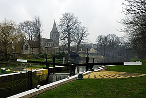 Water Newton - Image: Water Newton Lock geograph.org.uk 342893