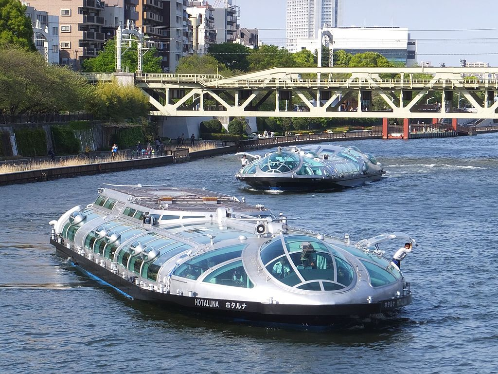 Water buses Hotaluna and Himiko 201604