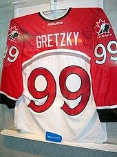 170px-Wayne_Gretzky_jersey Wayne Gretzky Edmonton Oilers Los Angeles Kings New York Rangers Team Canada Wayne Gretzky