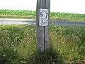 Wegweiser Fläming-Skate Strecke S7 Km - 5,2 - panoramio.jpg