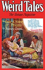 Weird Tales cover image for January 1930