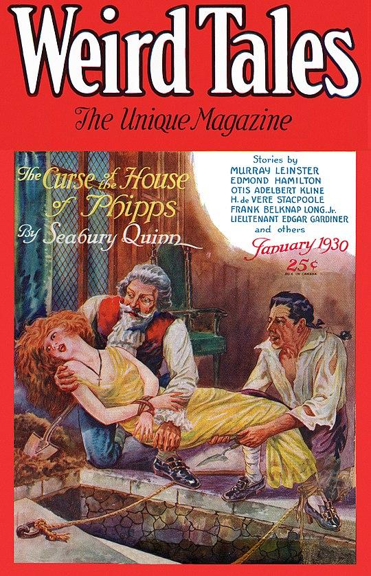 Weird Tales January 1930