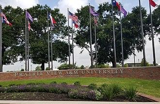 Prairie View A&M University - Entrance of campus