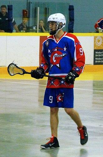 Ontario Junior B Lacrosse League - Welland Generals player 2014.