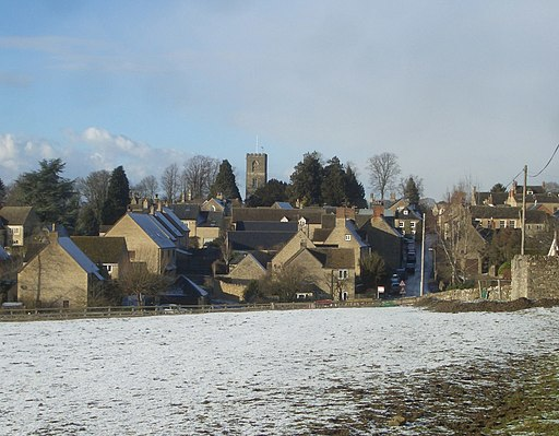 West side of Charlbury - geograph.org.uk - 1706587