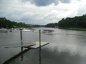 Saugatuck River - Image: Westport, Connecticut