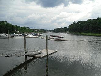 Saugatuck River - Image: Westport, Connecticut