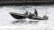 British Royal Marines on exercise.