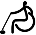 Wheelchair curling - Paralympic pictogram.png