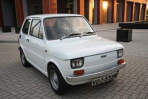 Sergio Sartorelli - White left hand drive Fiat 126 produced in 1973 6