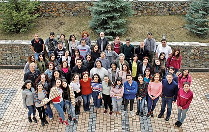Wiki loves Science 2018, March, Armenia, Group photo.jpg
