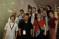 Wikimania 2009 - German Wikipedia members (1).jpg