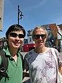 Wikimania 2017 - Deryck and Carl Fredrik.jpg