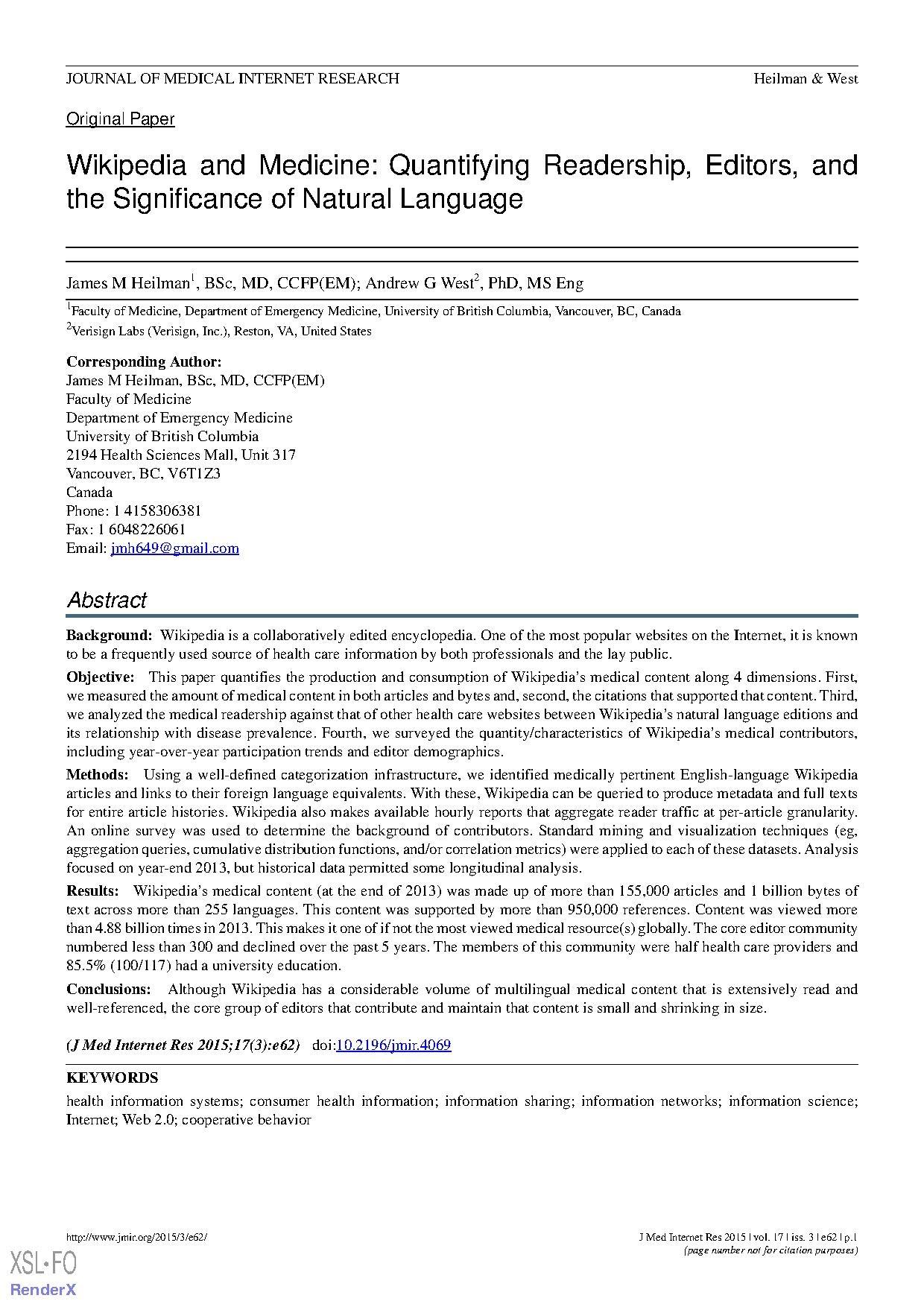 File:Wikipedia and Medicine Quantifying Readership, Editors, and pdf