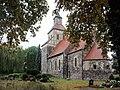 Wildenbruch (Michendorf), Dorfkirche und Friedhof.JPG
