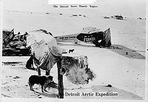 Hubert Wilkins - Detroit Arctic Expedition, 1926