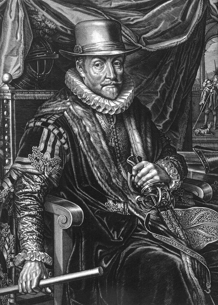 Willem Jacobsz. Delff - Portrait of William the Silent (detail) - WGA06290