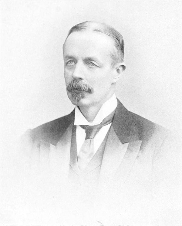 portrait photograph of William Amias Bailward