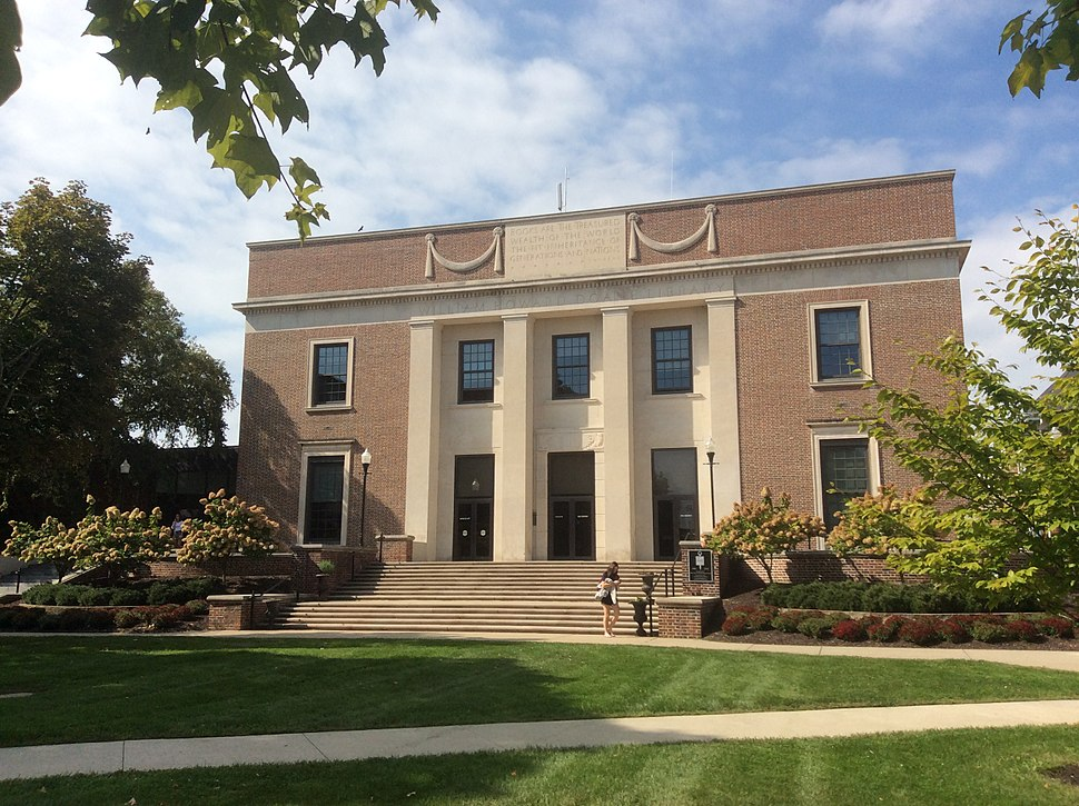 William Howard Doane Library (1937), Denison University, Granville, Ohio